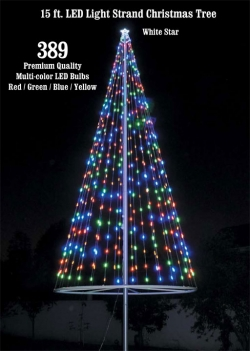 Christmas Tree Light Kit-Multicolor