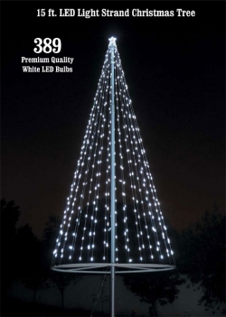 Christmas Tree Light Kit - White
