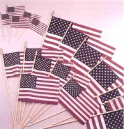 U.S. Stick Flags 8 X 12
