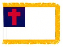 Christian Fringed Flag