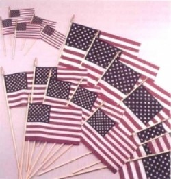 U.S. Stick Flags - 4 X 6