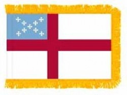Episcopal Fringed Flag